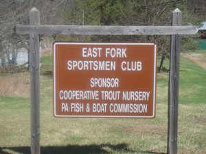 East Fork Sportsmen Club Sign